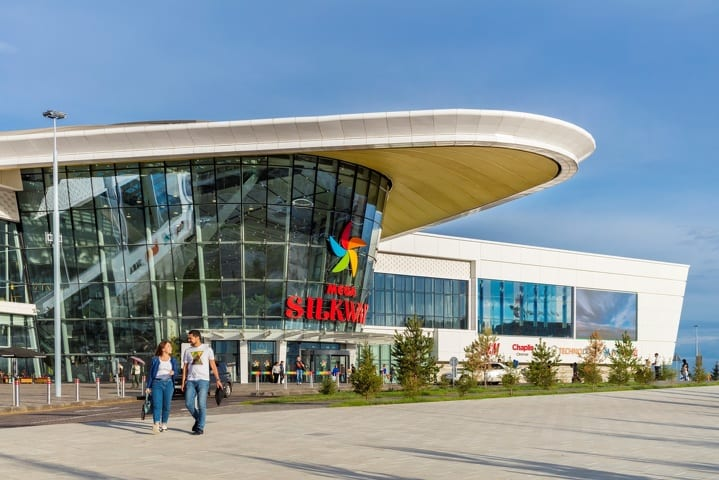 Mega Silk Way Was Recognized As The Best Mall In The International Competition Asia Pacific Property Awards International Property Awards