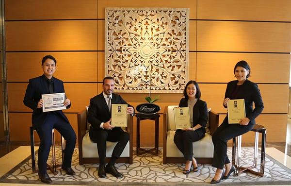 International Hotel Awards 2018 Fairmont Jakarta Achieves 4 Prestigious Awards At The Same Time International Property Awards