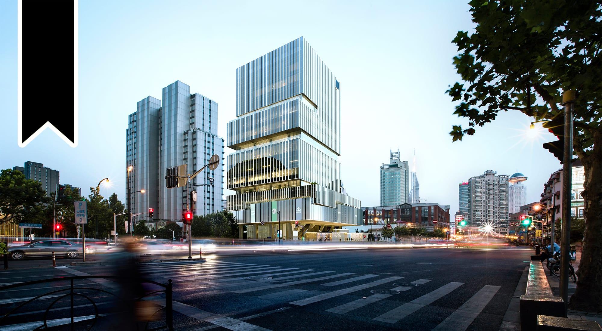 Aedas-Designed Shanghai Yingkai Cultural Plaza EDGE — Floating Garden Amidst Modernity