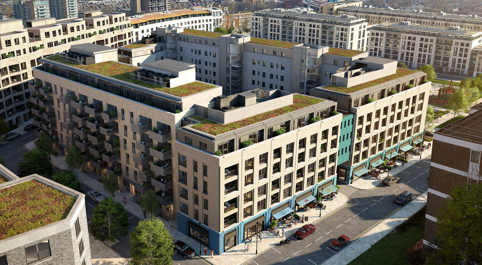 Catalyst Appoints Knight Frank as sole sales agents for The Auria at Portobello Square