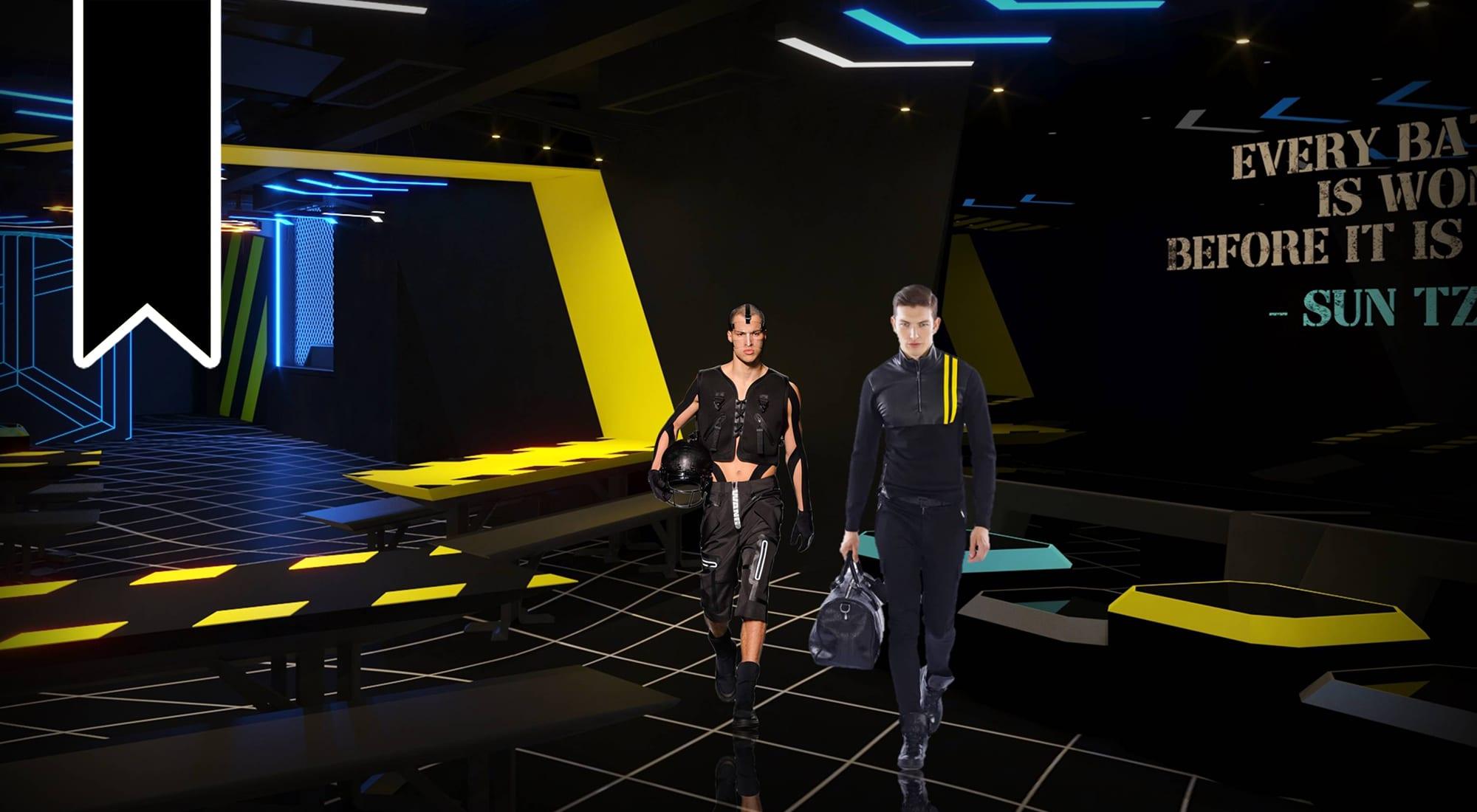 Alexander Wong Architects' 'WAR ZONE Wormhole Lounge'