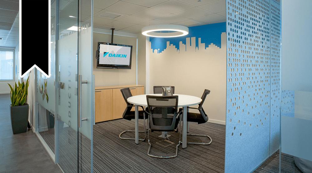 STIRIXIS' Group's concept renovates Daikin's new workplaces