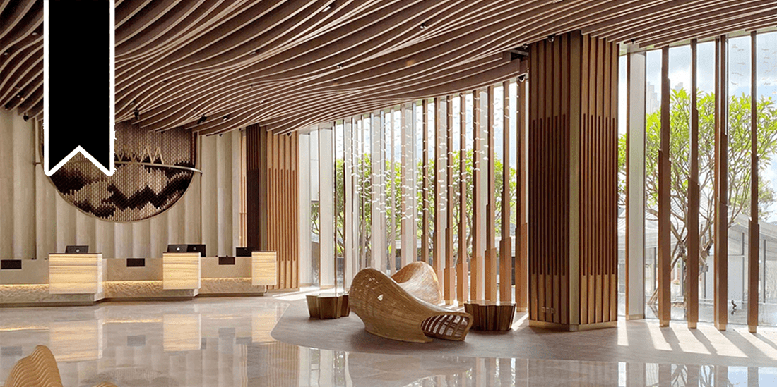 WM Hotel Interiors by Alexander Wong Architects Unveiled in Sai Kung Hong Kong